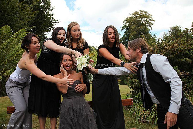 Un marié débordé!!!
