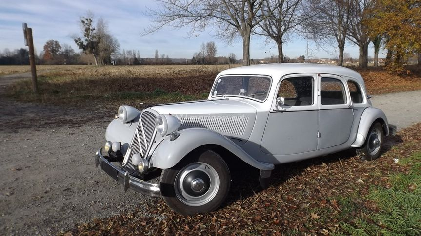 Citroën Traction longue