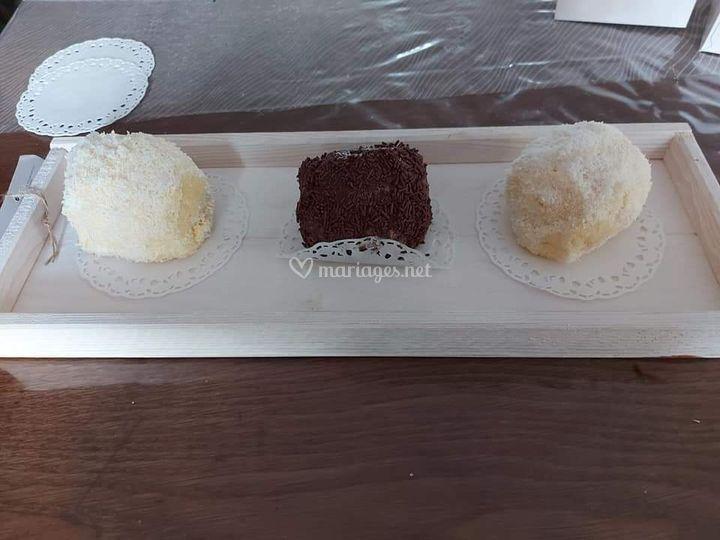 Boule coco ou chocolat