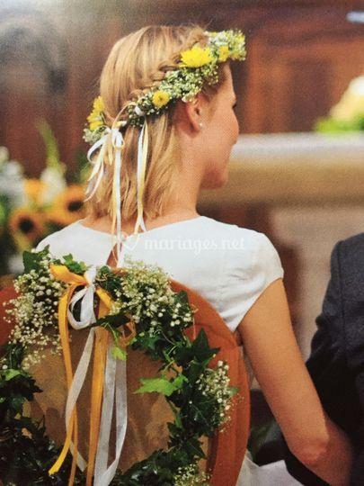 Mariage fleuries