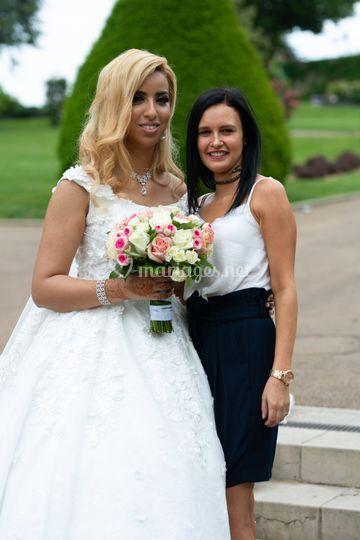 La mariée et moi même