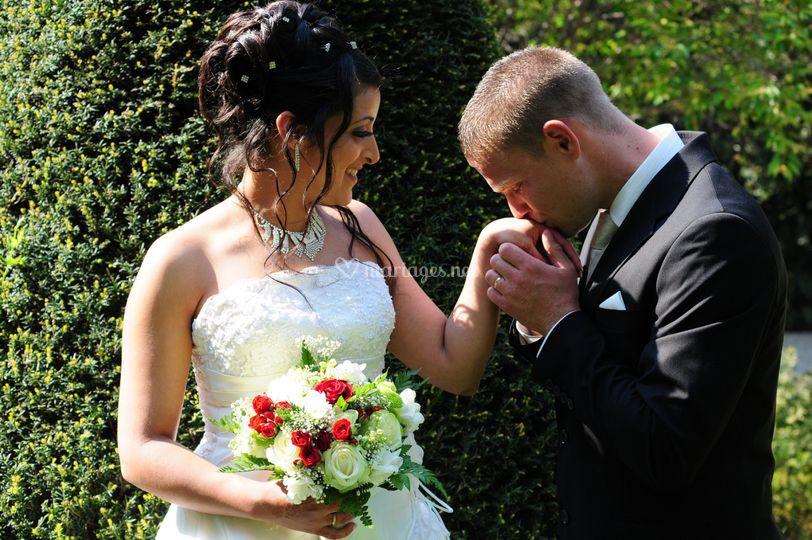 Mariage baise-main