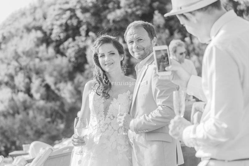 La confiance des mariés