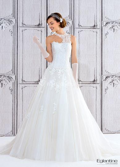 Robe de mariée Niaouli