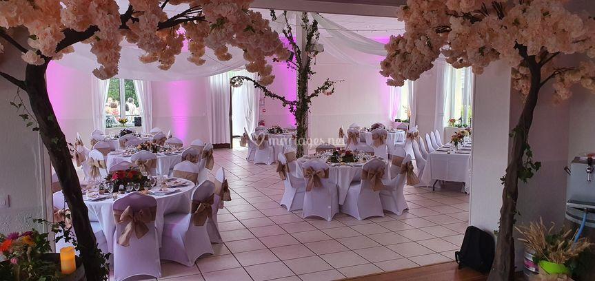 Eclairage salle mariage