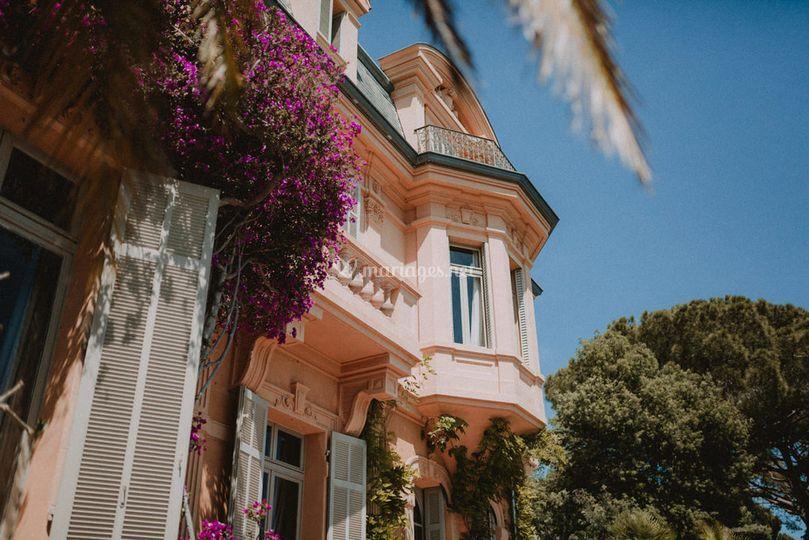 Somptueuse villa à Cannes