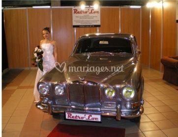 Mariée et Jaguar