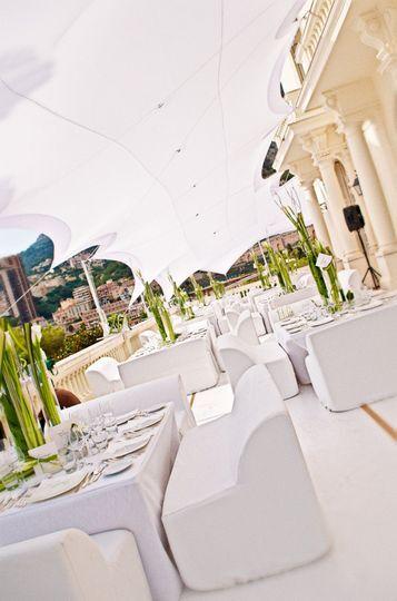 Mariage Monaco, villa privée