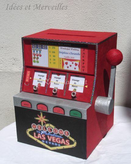 Urne thème Las Vegas