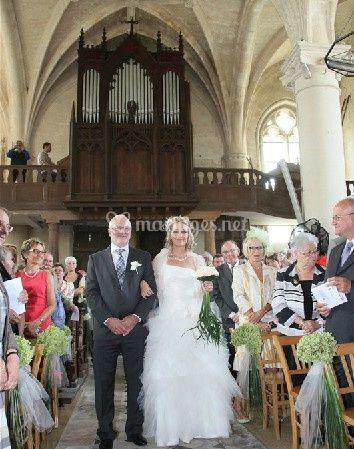 Entée de la mariée