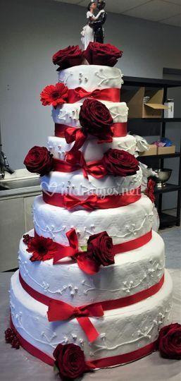Wedding cake léa passion
