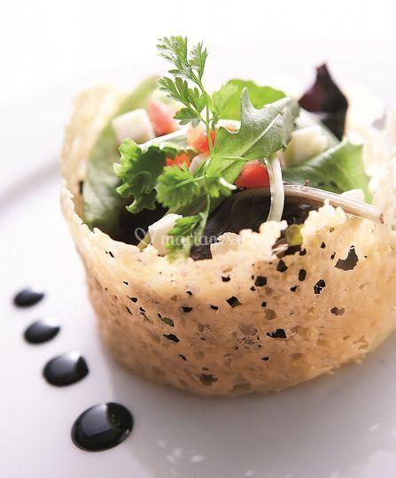 Salade croustillante