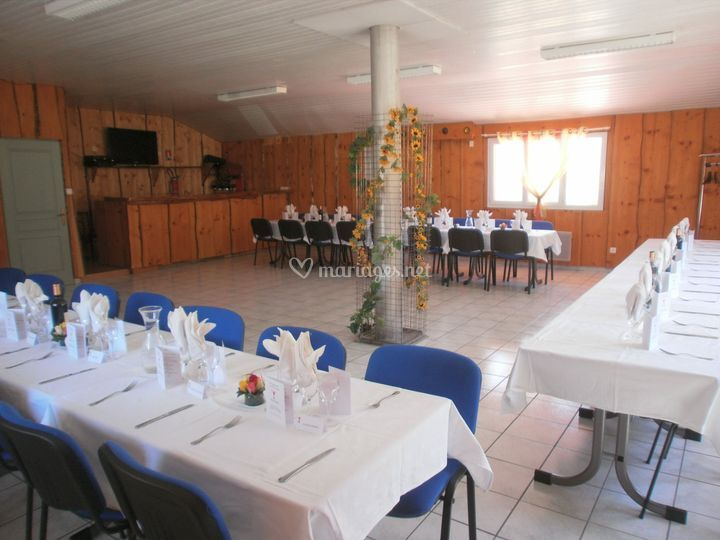 Salle de banquets