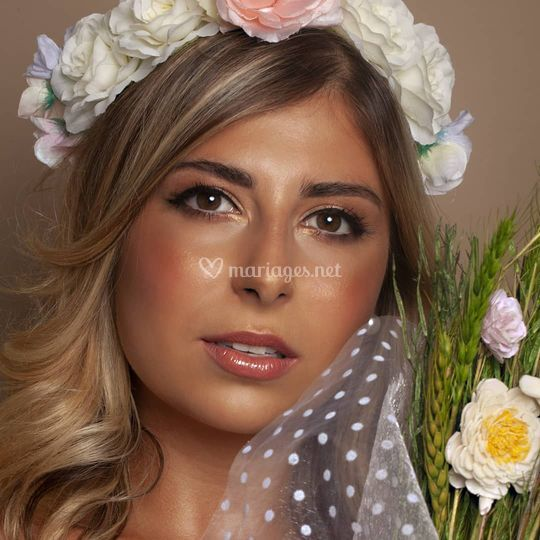 Maquillage Mariée en simplicit