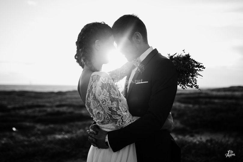 Reportage mariage sur la plage