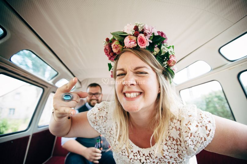 Photographe mariage funky