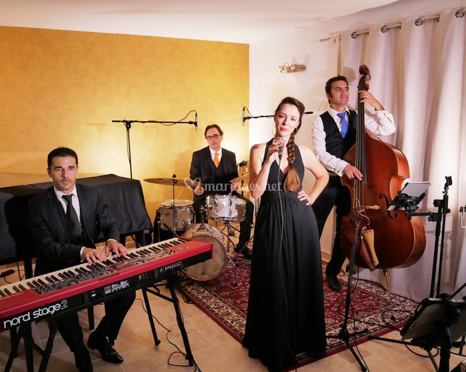 Quartet live jazz pop soul