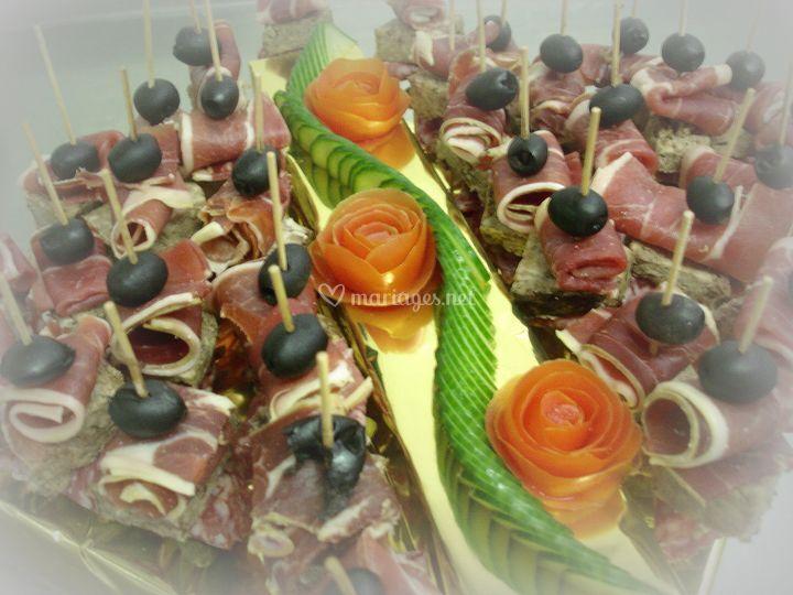Brochettes Serrano