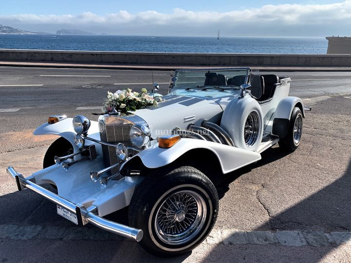 Location voiture mariage luxe