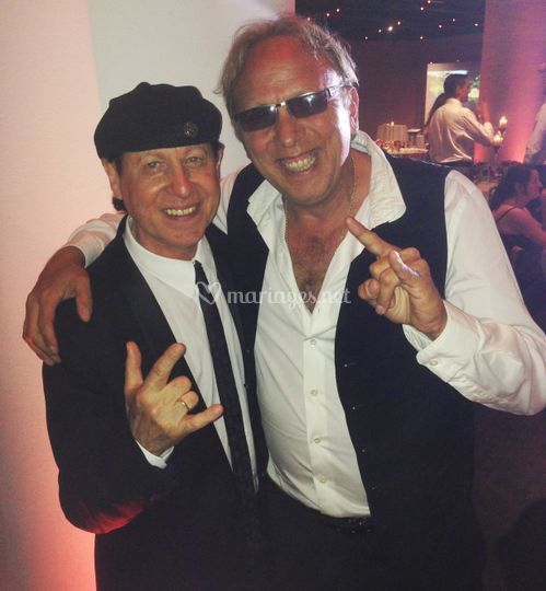 Mariage avec groupe SCORPIONS