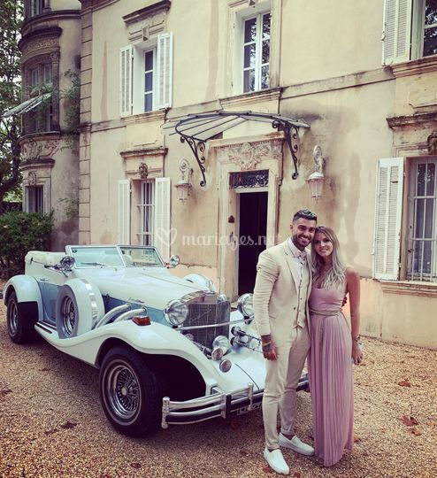 Wedding car france provence