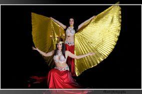 Cindy et Sandy - Danseuses orientales