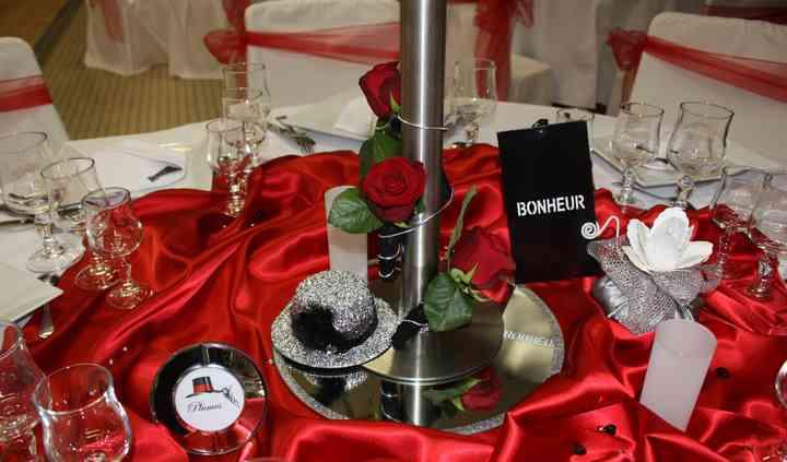 Décoration table cabaret