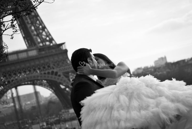 Paris, ville romantique