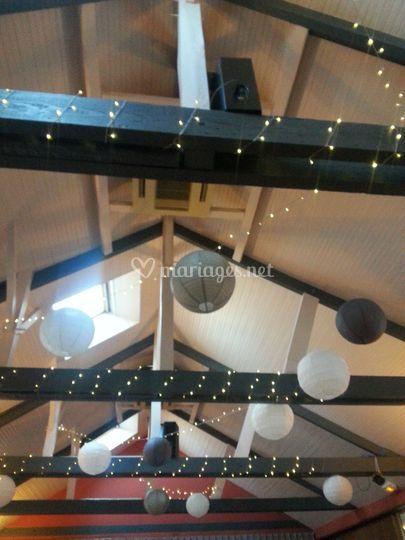 Décoration plafond très haut