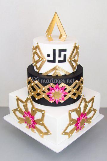 Cake Révol - Geometric Modern