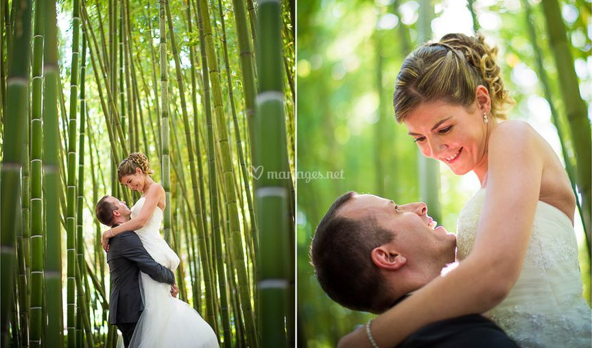 Couple au domaine de Valmont
