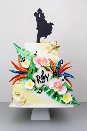 Cake Révol - Tropical cake