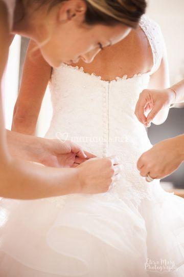 Préparatifs chez la mariée