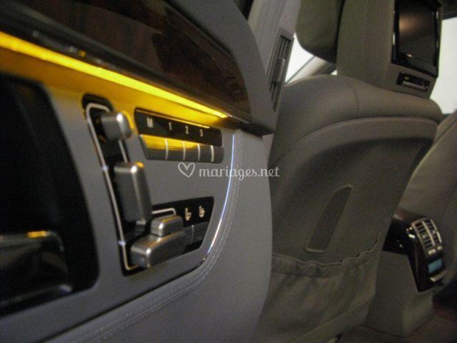 Mercedes S500 Intérieur