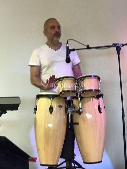 Jicero : percussionniste