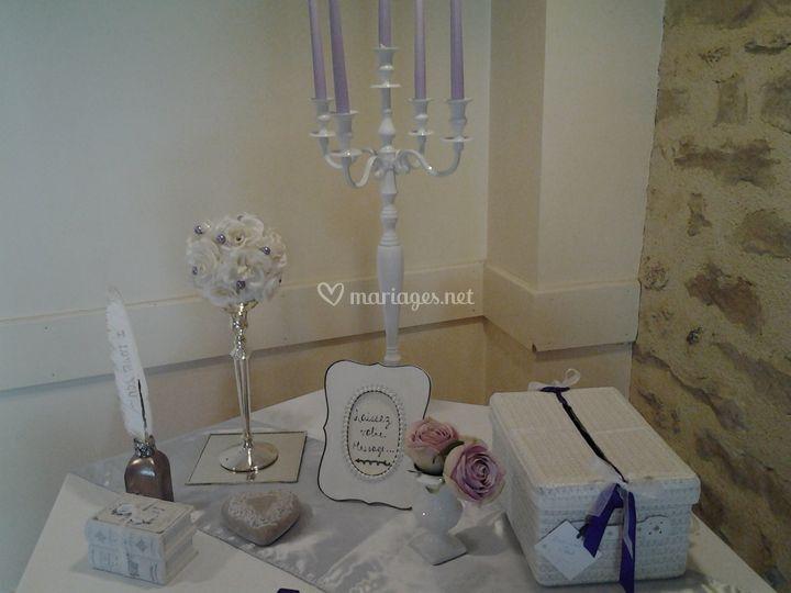 Table cadeaux de Se Marier Pas Cher