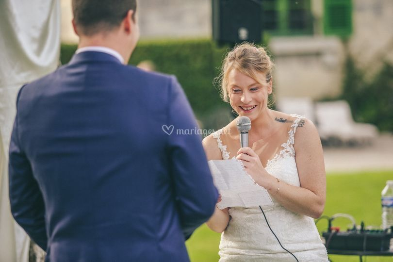 Discours mariée