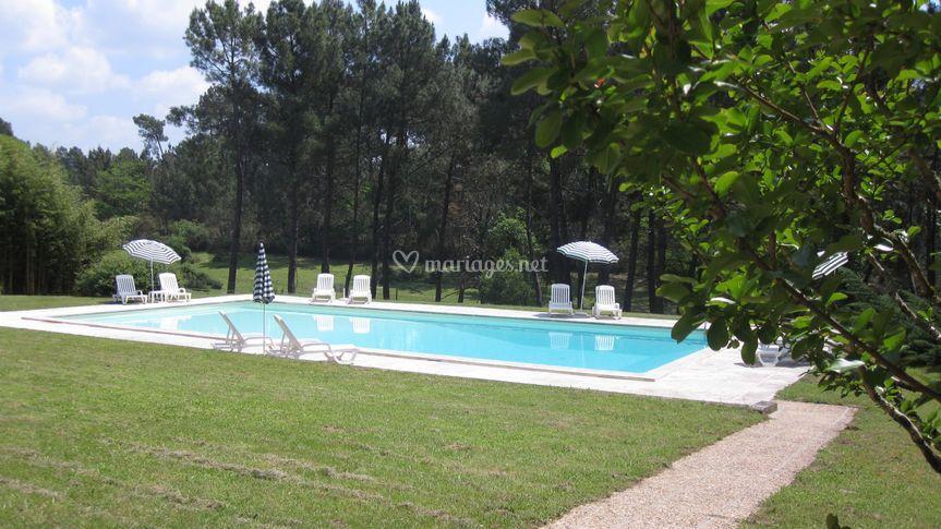 Grand Vignoble piscine