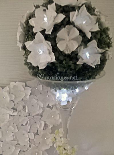 mur de fleurs de ninoaa cr ation photos. Black Bedroom Furniture Sets. Home Design Ideas