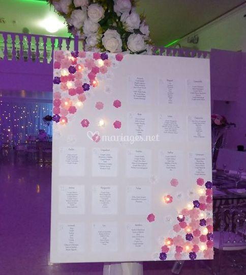 Plan de table personnalisable