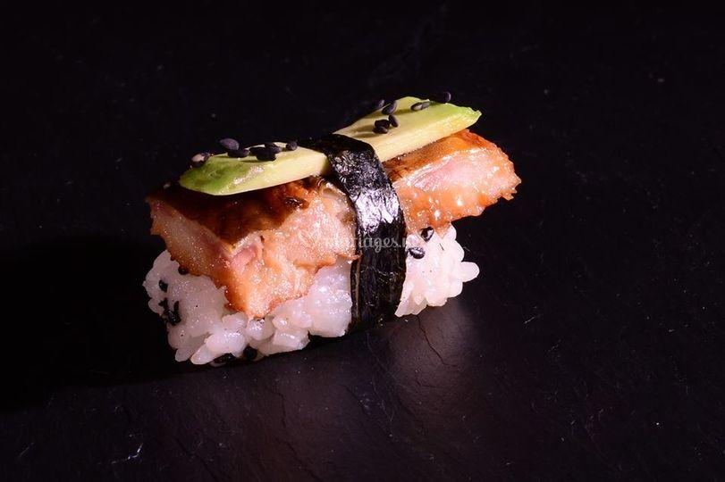 Gourmet Sushi Anguille Avocat