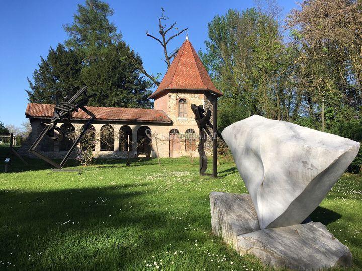 L'Orangerie et ses sculptures