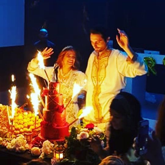 Wedding cake oriental