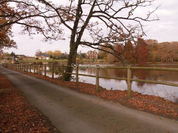 L'étang de la Garlais