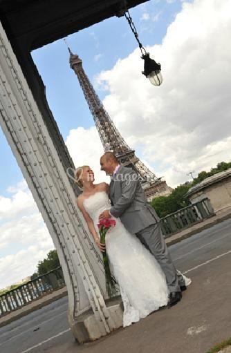 Les mariés Tour Eiffel