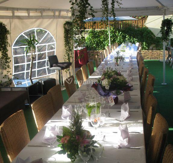 Les salons de la marne for Banquette terrasse