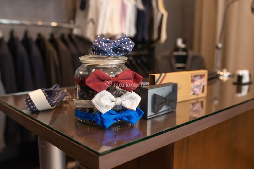 La boutique du marié