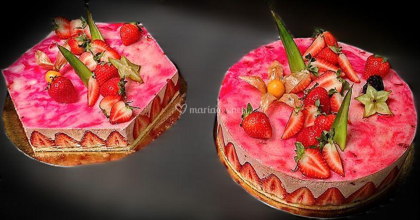 Gâteaux fraise