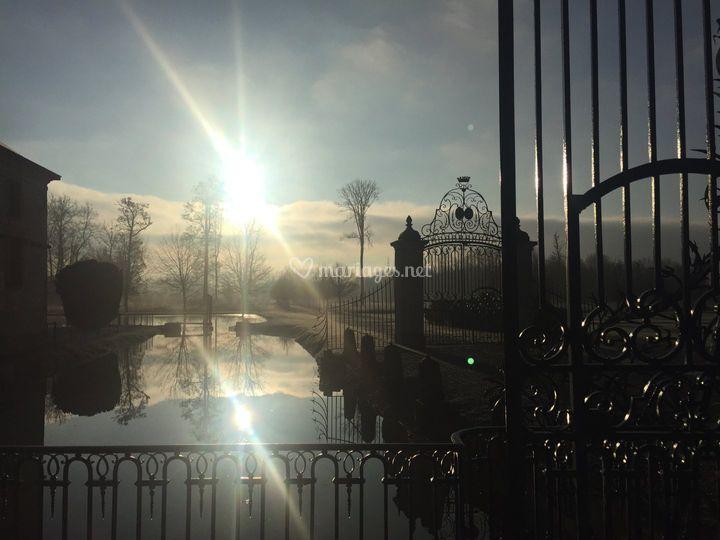 Lueurs d'hiver au Château