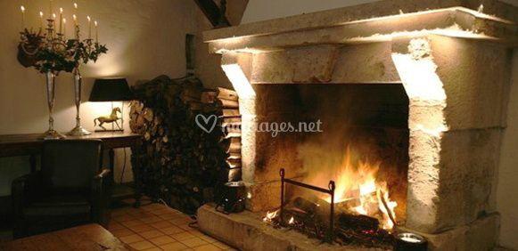 La cheminée La Grange